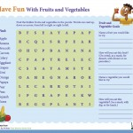 F&V Word Search